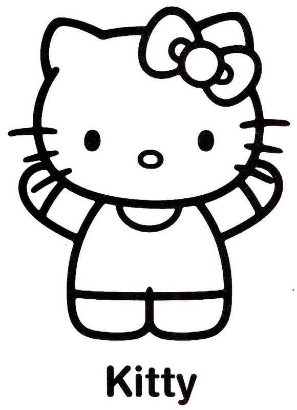 Coloriage hello kitty 19 - Coloriage hello kitty gratuit ...