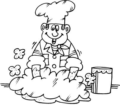 Coloriages boulangers patissiers page 2 - Coloriage boulangerie ...