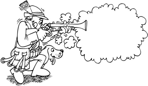 COLORIAGES Chasseurs