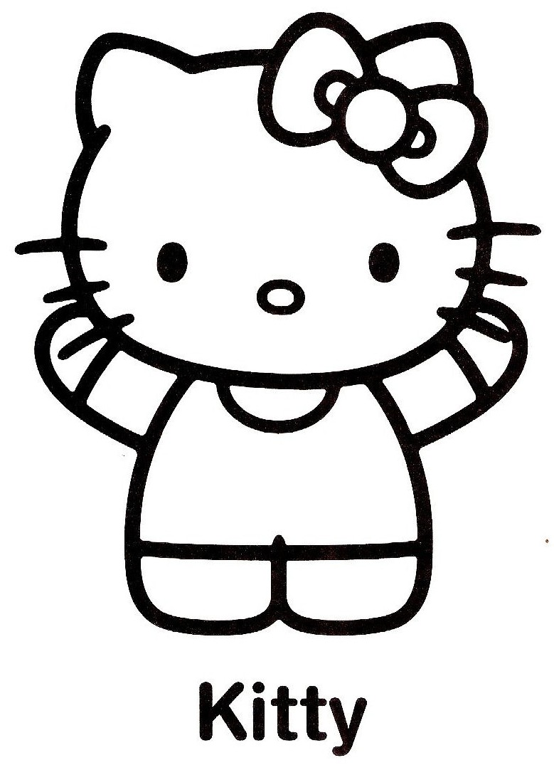 Coloriages hello kitty - Hello kitty imprimer ...