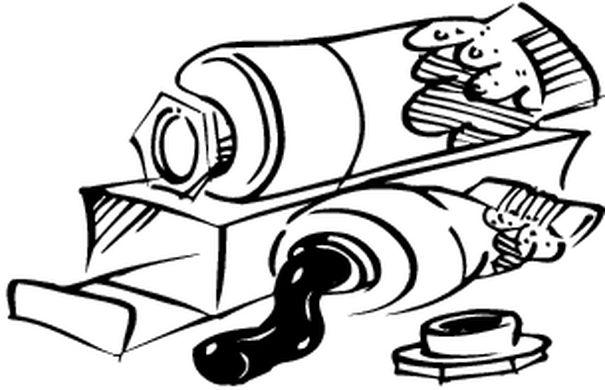 coloriages materiel de bureau. Black Bedroom Furniture Sets. Home Design Ideas
