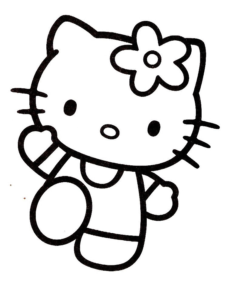 Coloriage hello kitty 23 - Coloriage hello kitty ...