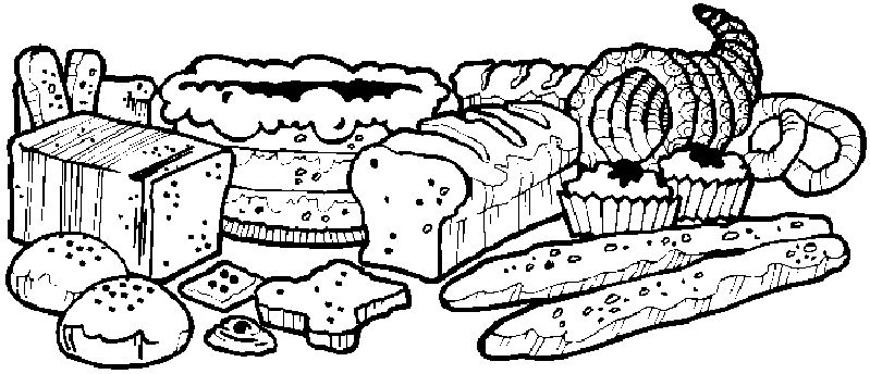 Coloriages boulangers patissiers page 5 - Dessin patisserie ...