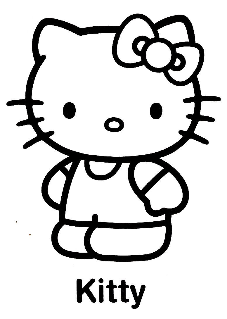 Coloriage hello kitty 24 - Coloriage hello kitty a colorier ...