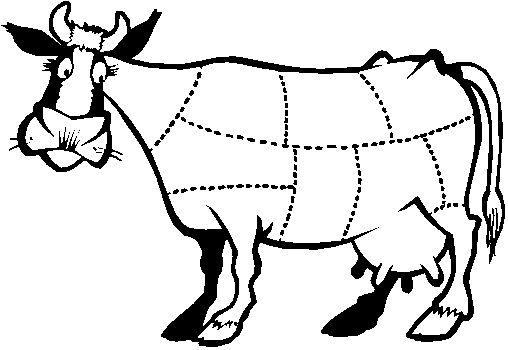 coloriages bouchers et viande