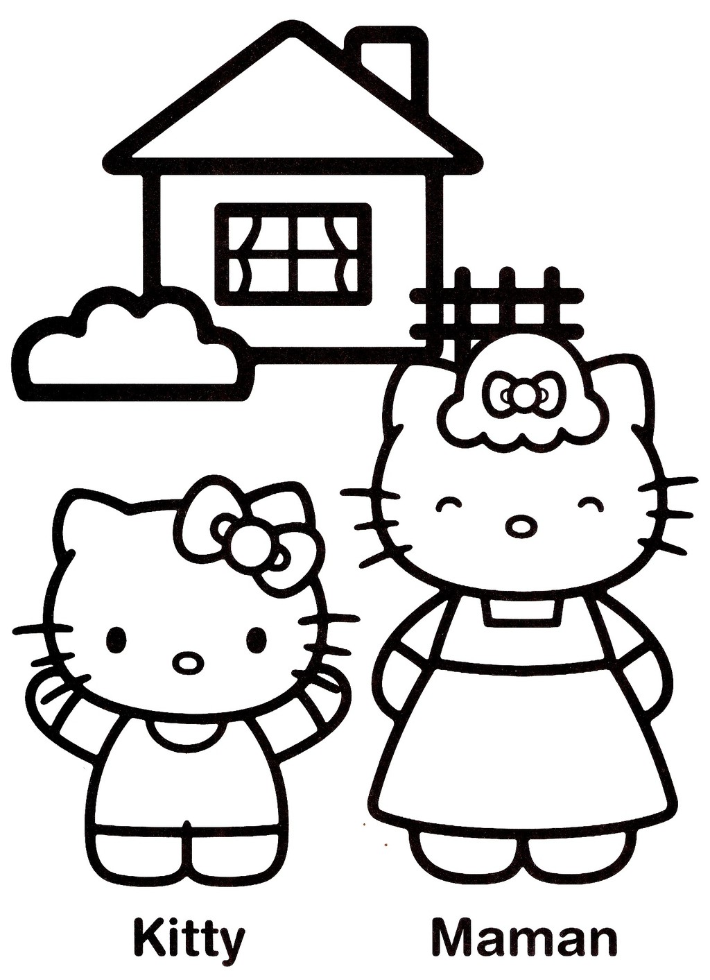 Coloriages hello kitty 18 - Colorier kitty ...